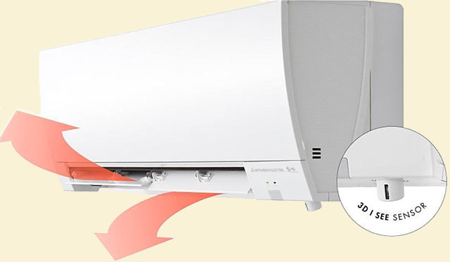 Mitsubishi Electric MSZ-FH25VE Deluxe Inverter